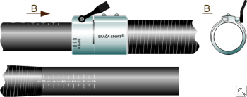 Brača Adjustable Shaft System for Kayak