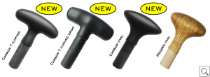Handle options for Dragon, SUP and Outrigger paddles